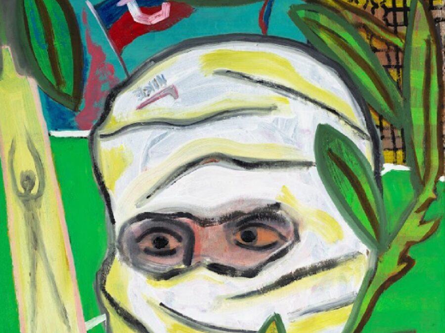 Artista bullanguero la rompe en el extranjero con pinturas inspiradas en su experiencia en la barra