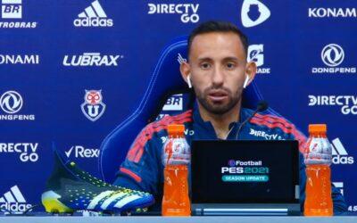 """Cañete quiere ayudar en los goles a Larrivey: """"Espero poder servirle como al resto de mis compañeros"""""""